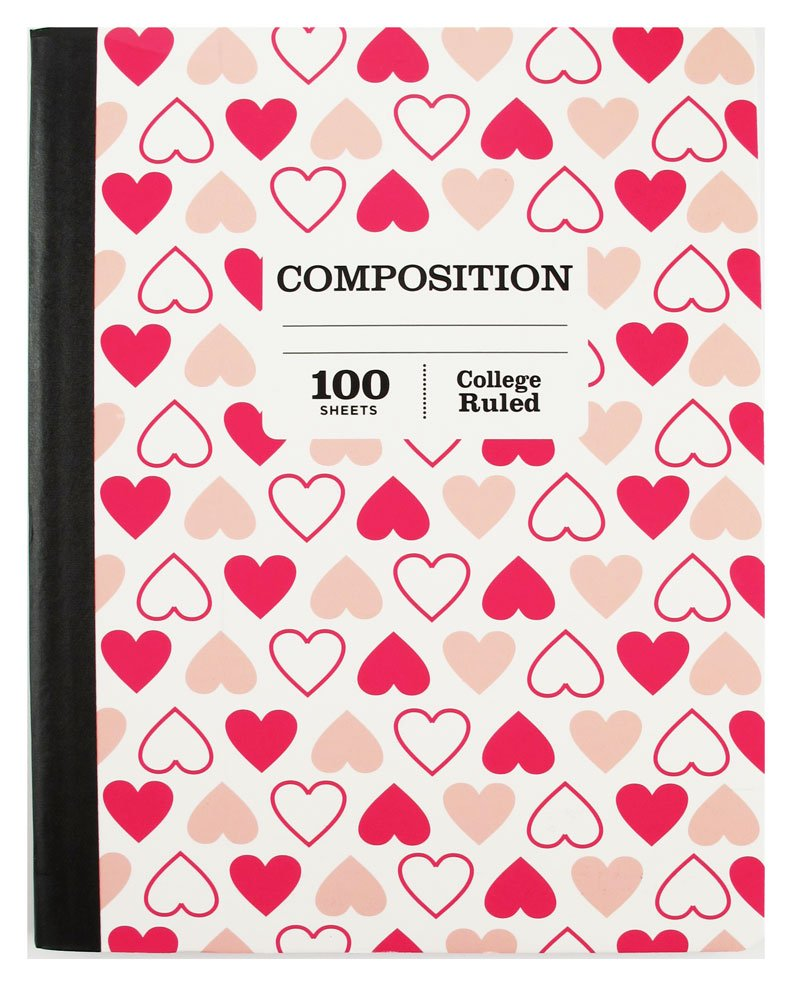 1 Subject College Ruled Composition 100 Page Notebook Sustainable Forestry Pack of 5 by Pen (Image #2)
