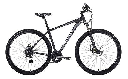Barracuda Hombre Draco 4 29 ner para Bicicleta, Color Negro/Naranja, tamaño Size