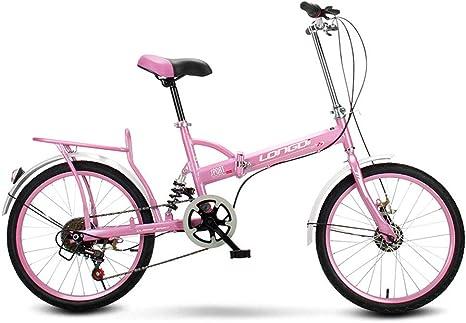 Hombres Y Mujeres Plegables Bicicleta Plegable-16 Pulgadas Adultos ...