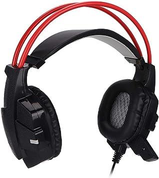 Tosuny Gaming Auriculares para PC/PS3/PS4/XBOX 360/XBOX One, Cascos Gaming con Micrófono Cancelación de Ruido 3.5mm Jack: Amazon.es: Electrónica