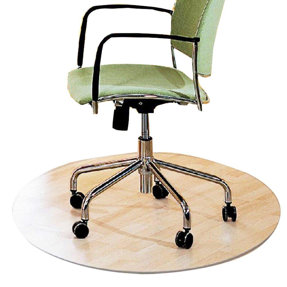 PVCカーペットコンピュータチェアクッション回転椅子クッションマットd80 CM - 01 B01IF76ZJE 23902