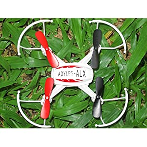 adyleg alx 2.4G 4CH 6-Axis Gyro RC Quadcopter With HD Camera and Video Very User Friendly Drone Excellent for first timers, beginners, and all other levels great for kids