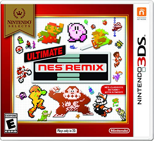 Nintendo Selects: Ultimate NES Remix - 3DS from Nintendo