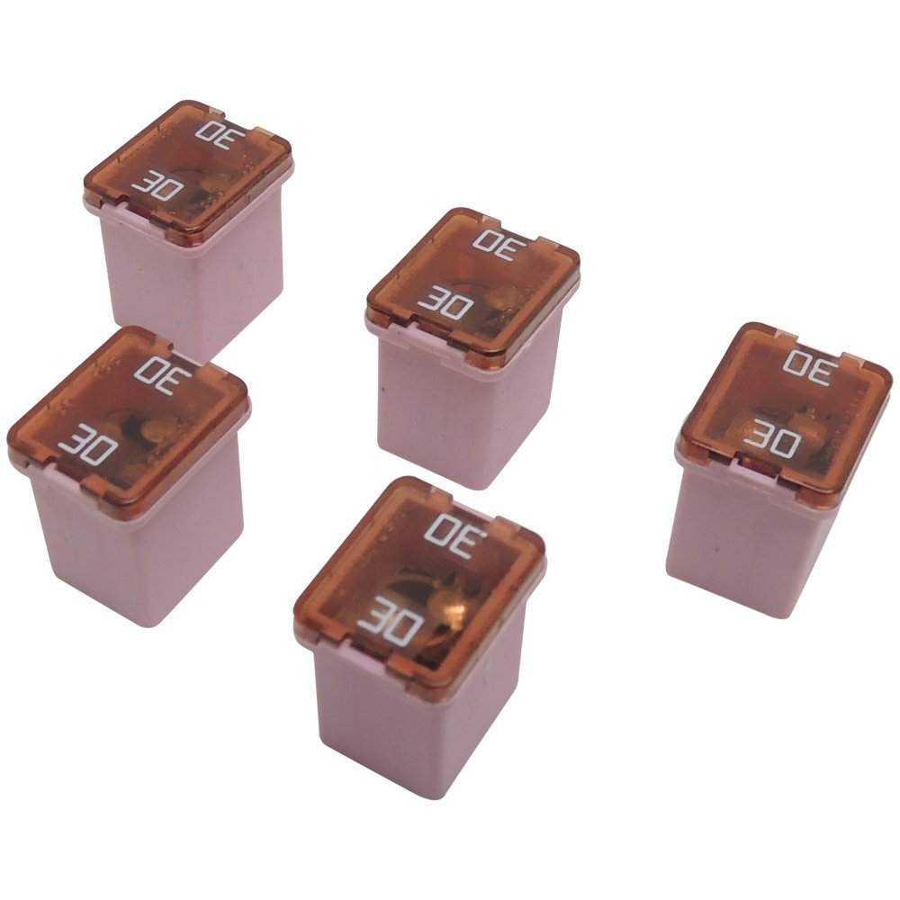 61YMgKVFuUL._SL1000_ amazon com 30 amp 58v low profile j case pink cartridge fuses (5 cartridge fuse box at sewacar.co