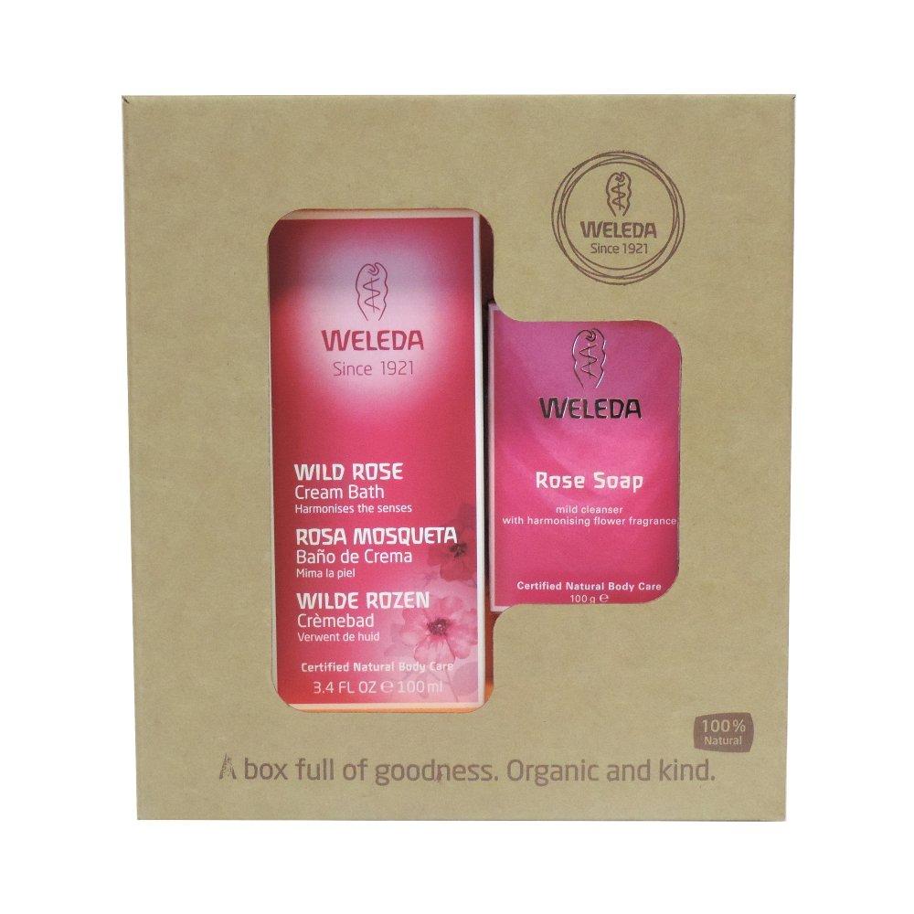 Weleda - Wild Rose Bath Gift Pack - 200g (Case of 7)
