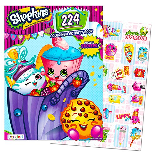 Shopkins Giant Coloring and Activity Book with