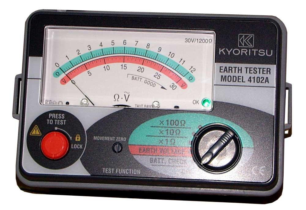 KYORITSU アナログ接地抵抗計(ソフトケース) MODEL4102A  B002P9A392