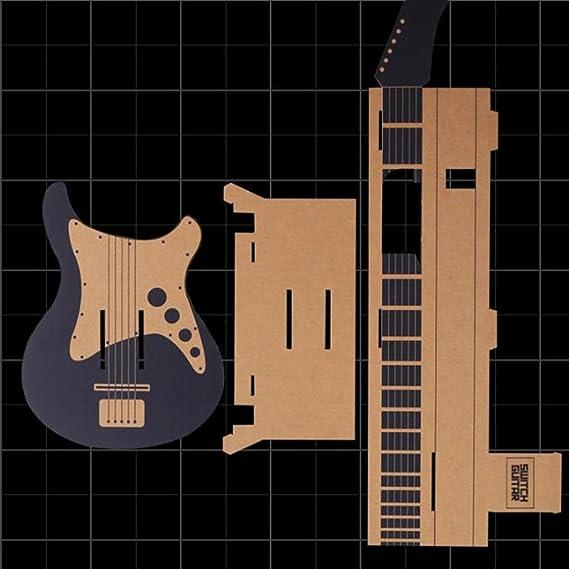 Guitarra para hacer papel, juguetes educativos, juguetes de cartón ...