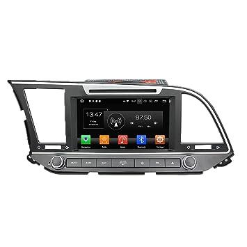 Android 8.0 Octa Core Autoradio Radio DVD GPS navegación Reproductor multimedia estéreo de coche para Hyundai