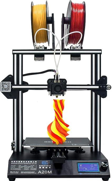GEEETECH New A20M Imprimante 3D avec impression Mix-Colore, design ...