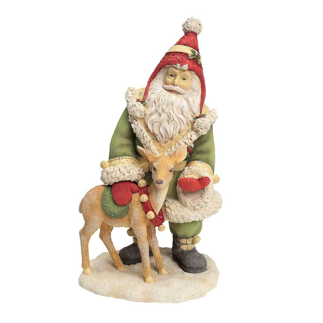 Enesco Heart of Christmas Santa's Reindeer Treats Figurine