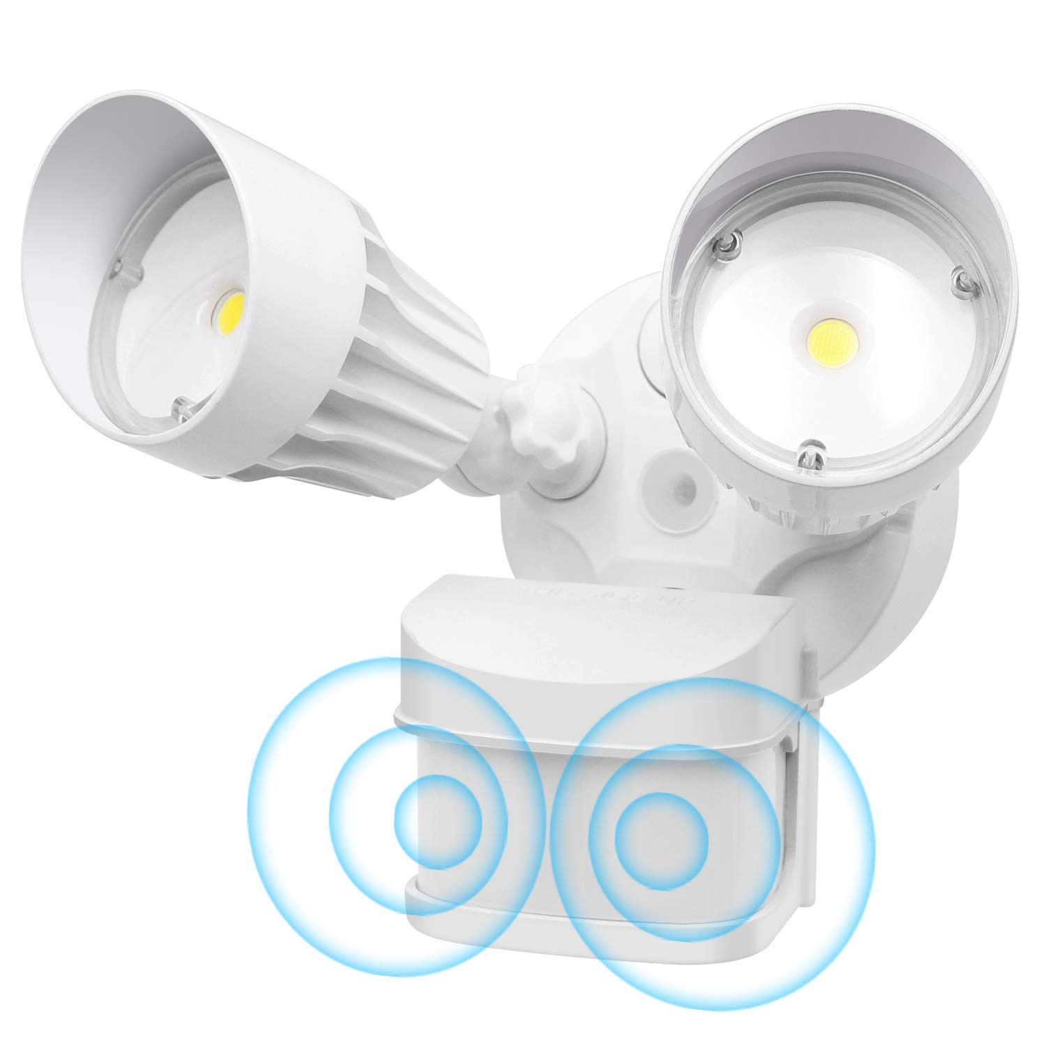 CINOTON LED Flood Light Motion Sensor Light Outdoor