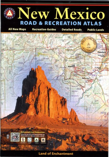 New Mexico Benchmark Road & Recreation Atlas (Road Map Of Texas And New Mexico)