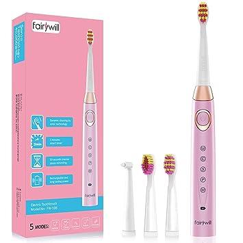 Amazon.com: Cepillo de dientes eléctrico Sonic recargable ...