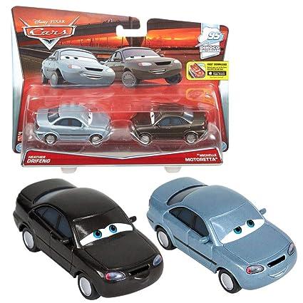 Disney Selección Modelos Doble Pack Cars | Cast 1:55 Vehículos | Mattel, Cars Doppelpacks:Heather Drifeng & Michelle Motoretta: Amazon.es: Juguetes y juegos
