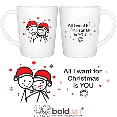 boldloft merry christmas couple mugs set of 2christmas mugs for coupleschristmas gifts