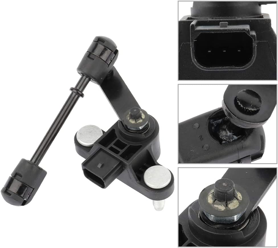 FEIPARTS Front Right Height Sensor 6L1Z5359CC 924-261 Fit for 2003 2004 2005 2006 Ford Expedition,2003 2004 2005 2006 Lincoln Navigator Suspension Height Level Sensor