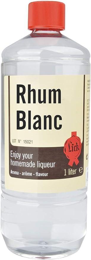 extracto de Lamer licor de ron blanco 1 litro: Amazon.es: Hogar