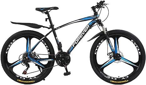 AISHFP Bicicleta de montaña para Adultos, Bicicleta de Carretera ...