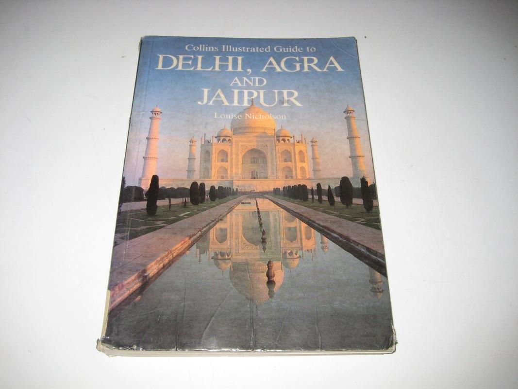 delhi agra and jaipur paperback