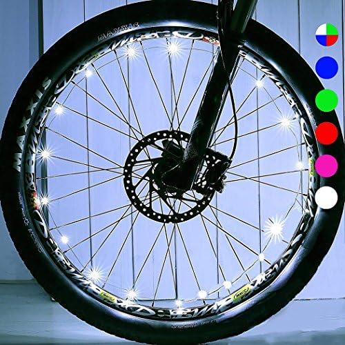 MICO Toys - Luz para Rueda de Bicicleta para niños de 4 a 17 años, Regalo para niños de 3 a 15 años, Regalo para niños y niñas de 5 a 16