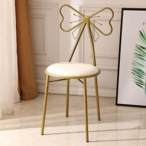 Magnificent Amazon Com Nuxn Gold Bronze Vanity Stool Chair Makeup Bench Gmtry Best Dining Table And Chair Ideas Images Gmtryco
