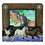 River's Edge Horses 4x6 Picture Frame Horizontal