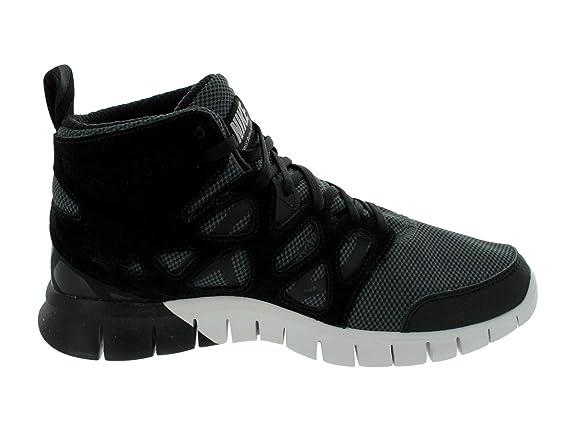 Amazon.com | Nike Men's Free Run 2 Sneakerboot Black/Black/Summit White Running  Shoes 11 Men US | Running