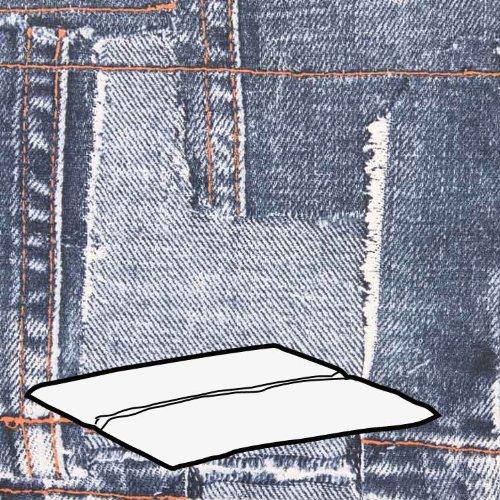 Kettler-0309003-8763-Auflage-fr-Hocker-48-x-48-x-3-cm-Jeansmuster-hellgrau