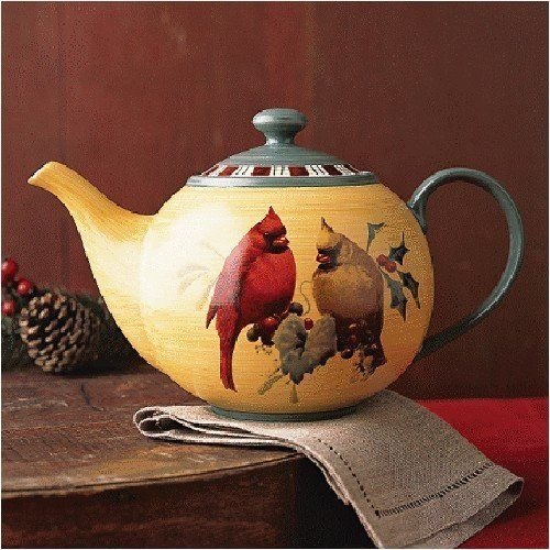 Lenox Winter Greetings Everyday TEAPOT WITH LID by Lenox