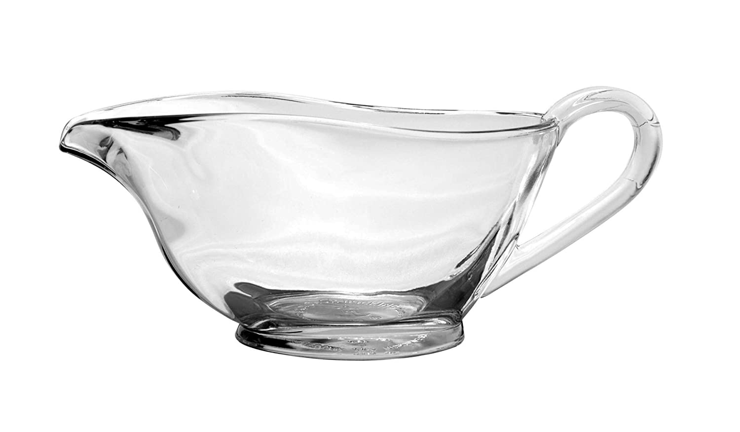 Anchor Hocking 77938 Presence Gravy Boat, Glass, 10 oz, Clear, Regular Fox Run Craftsmen