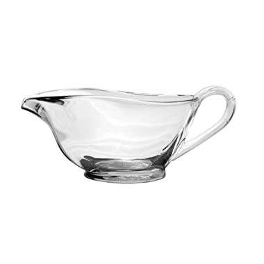 Anchor Hocking 77938 Presence Gravy Boat, Glass, 16-Ounce