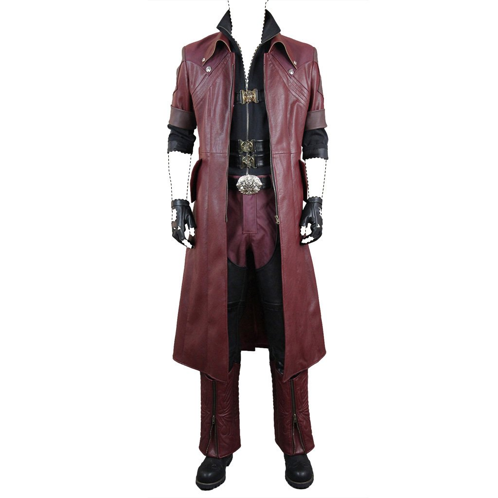 Devil May Cry 4 Cosplay Costume Dante Movie Ver. Dx Costume ...
