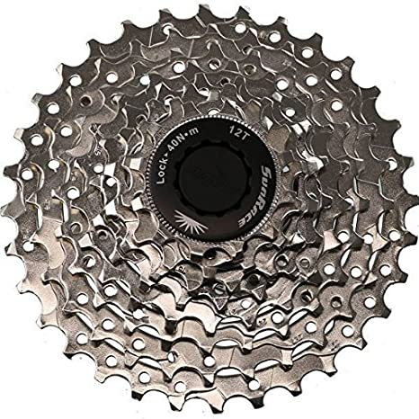 Bicycle Components & Parts Sunrace Cassette Csm66 12-34 8 Speed Nickel Cycling
