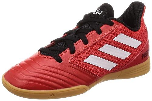 f9f4d18ea13c adidas Unisex Kids' Predator Tango 18.4 Sala Footbal Shoes, Black  Cblack/Ftwwht/
