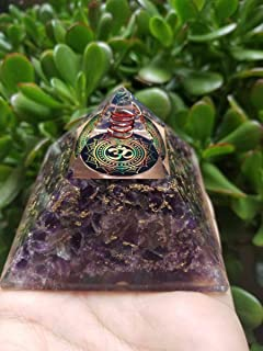 Ocean Bliss Orgone Pendant Healing Crystal Necklace Energy Meditation Tool Ion