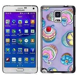 Stuss Case / Funda Carcasa protectora - Cupcakes For Princesses.Hehe - Samsung Galaxy Note 4