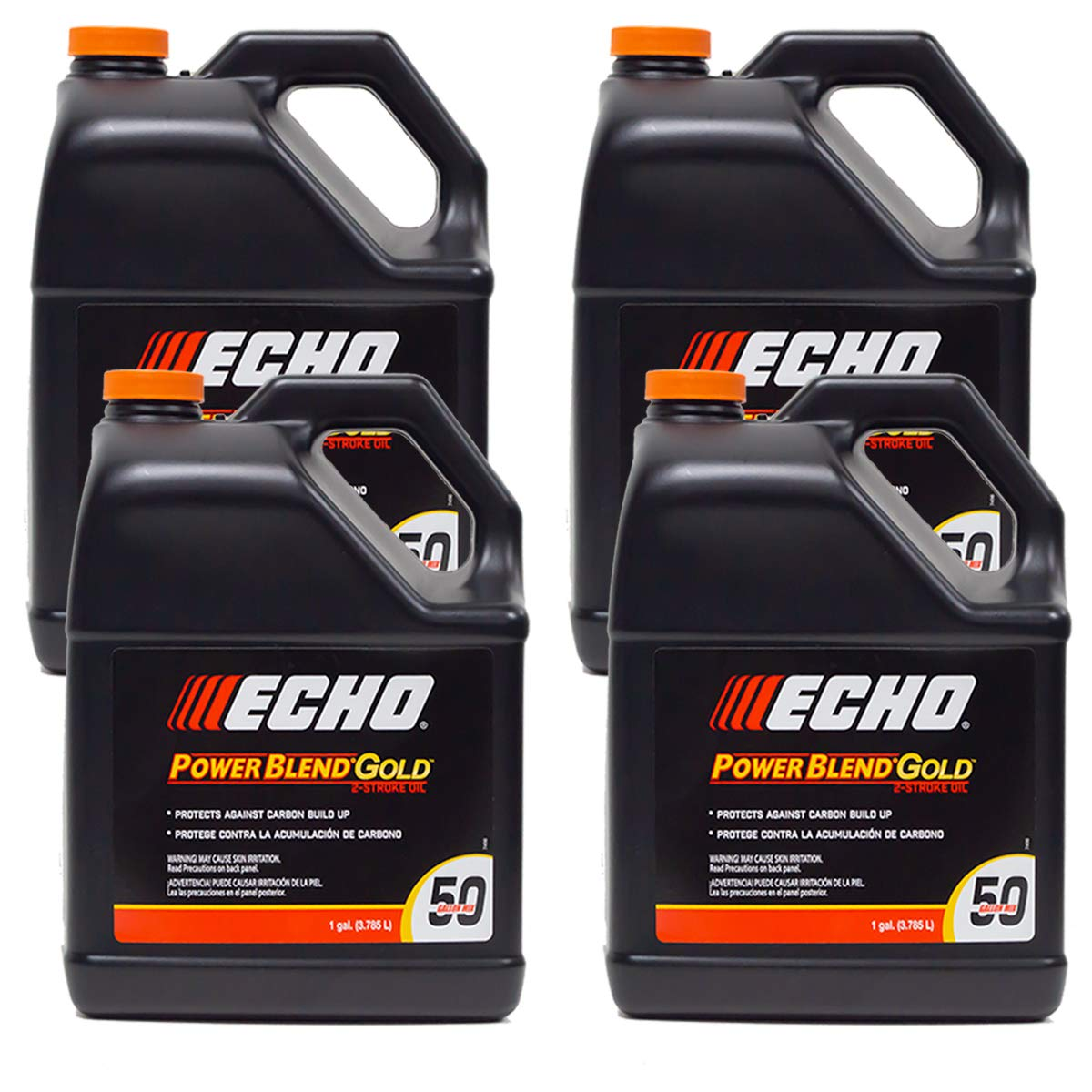 Replaces Echo 4PK Echo 2-Cycle Engine Oil Mix Extended Life Power Blend 6450050 (1) Gallon by Replaces Echo
