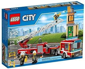 LEGO City Fire Engine 376pieza(s) Juego de construcción - Juegos de construcción (5 año(s), 376 Pieza(s), 12 año(s)): LEGO: Amazon.es: Juguetes y juegos