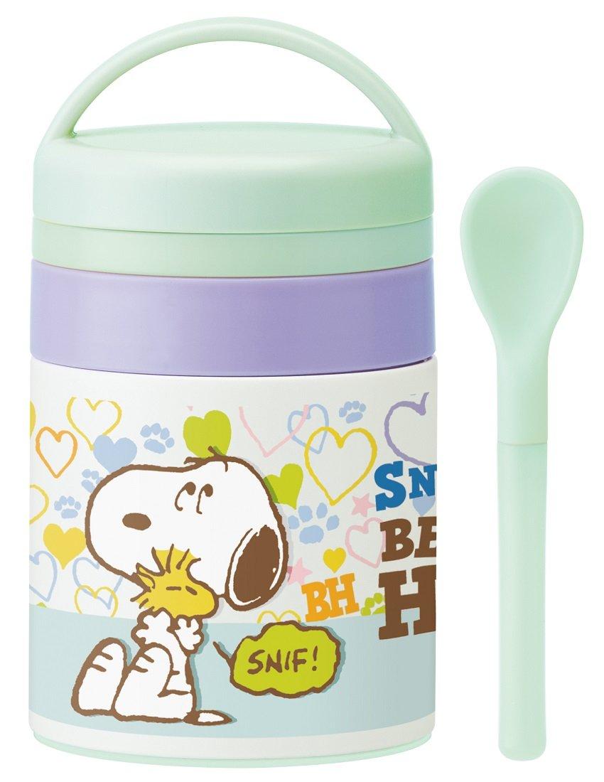 Baby food Stainless steel pot 180ml Snoopy beagle Hug 16 soup pot soup jar LJFC2