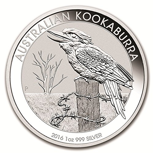 2016 AU Kookaburra Silver Coin from the Perth Mint Dollar Uncirculated Mint