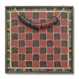 : Melissa & Doug Classic Wooden Checkers Game Board