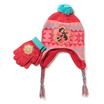 huge selection of fd10b de425 Amazon.com  Disney Elena of Avalor Hat and Glove Set  Toys   Games