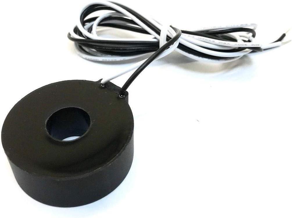 Tense Elektronik EM-100DIN Multim/ètre /à encastrer pour mesurer le courant 1 A-100 A - Tension et fr/équence dans les r/éseaux triphas/és Rail DIN num/érique