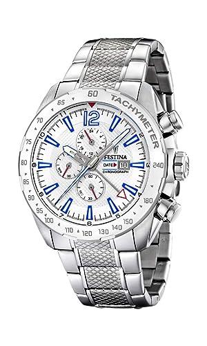 Amazon.com: Festina F20439/1 - Reloj cronógrafo de cuarzo ...