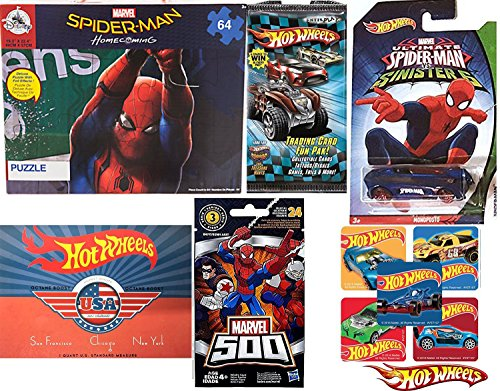 Spider-Man Hot Wheels Marvel Sinister 6 Collectible Exclusiv