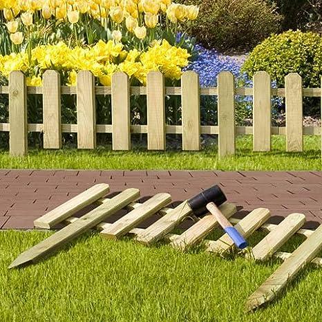 Mini Steccato In Legno 1140x280 450 Mm Amazon It Fai Da Te