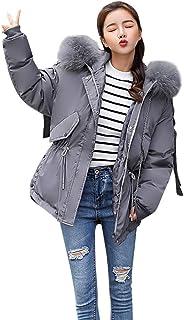 Styledresser Cappotti da Donna Nuovo Inverno da Donna Lungo Giù Cotone Eskimo Cappuccio Cappotto Trapuntato Outwear 41.51