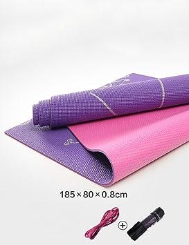 Antideslizante Yoga Mat --- Línea De Cuerpo Inodoro ...