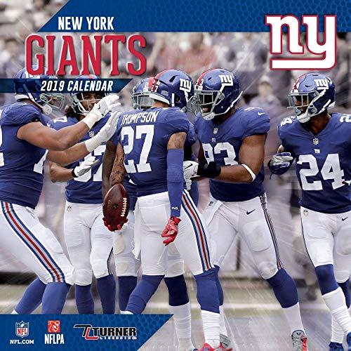2019 New York Giants Calendar, New York Giants by Turner Licensing ...